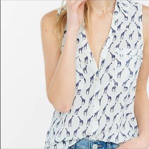 Express Portofino Shirt Giraffe Tank